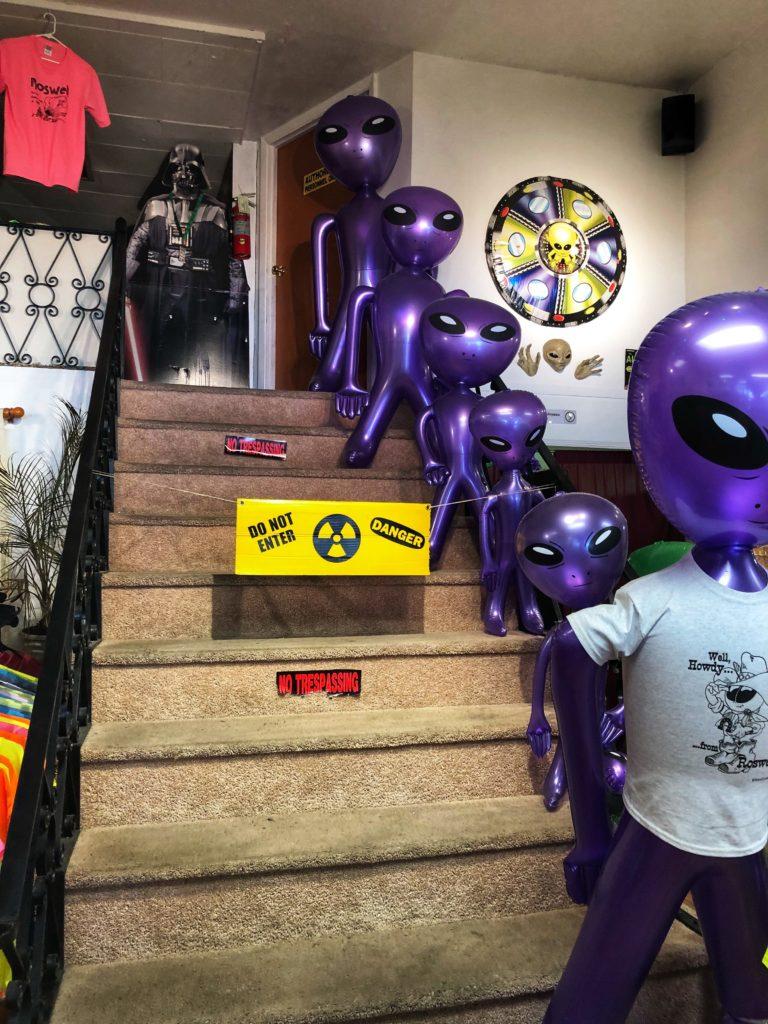 Alien landing zone in Roswell, N.M.