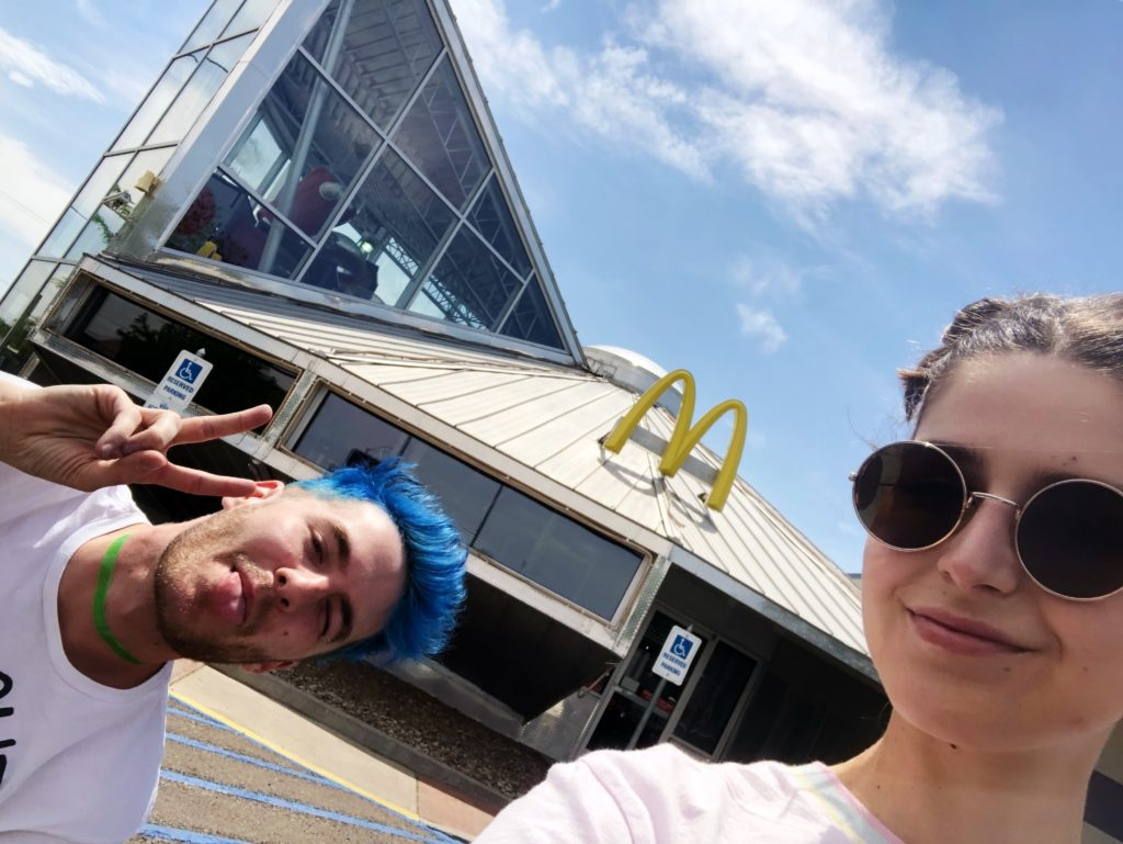 Roswell's flying saucer McDonalds