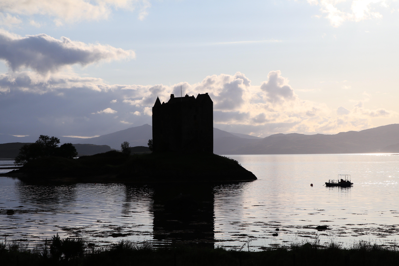 Castle Stalker on Loch Laich ECF
