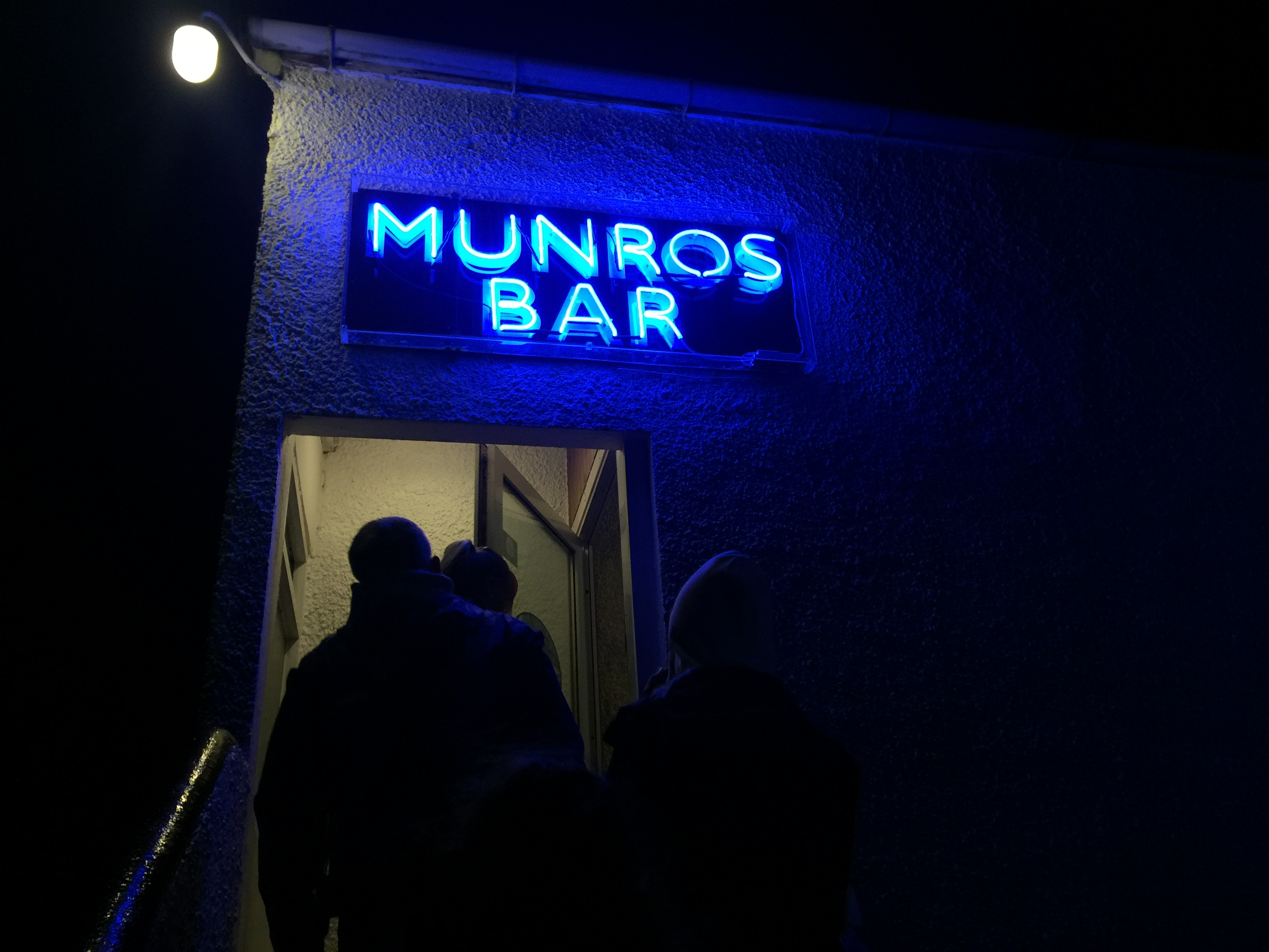 Munros Bar Isle of Skye