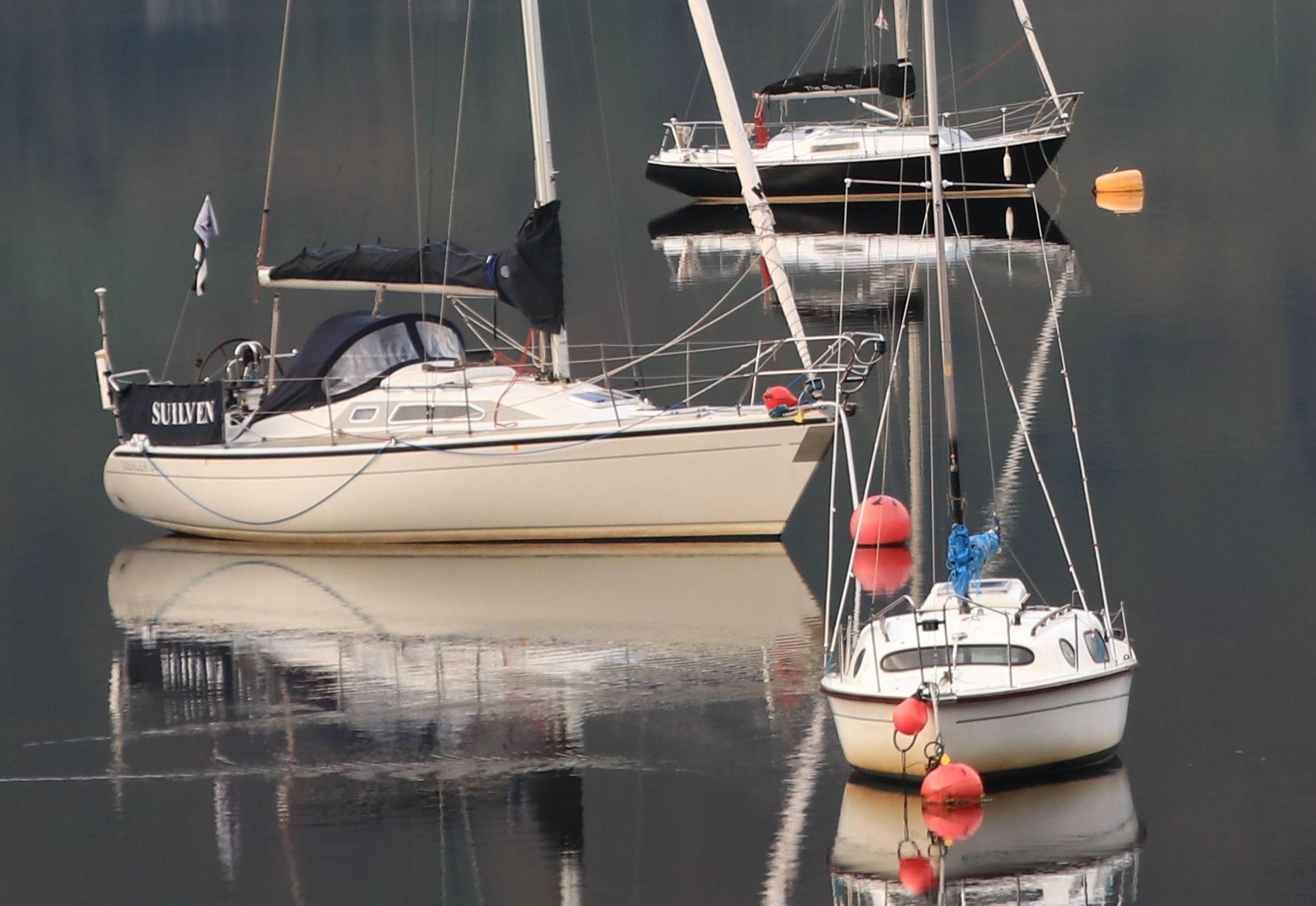 Glencoe sailboats tight