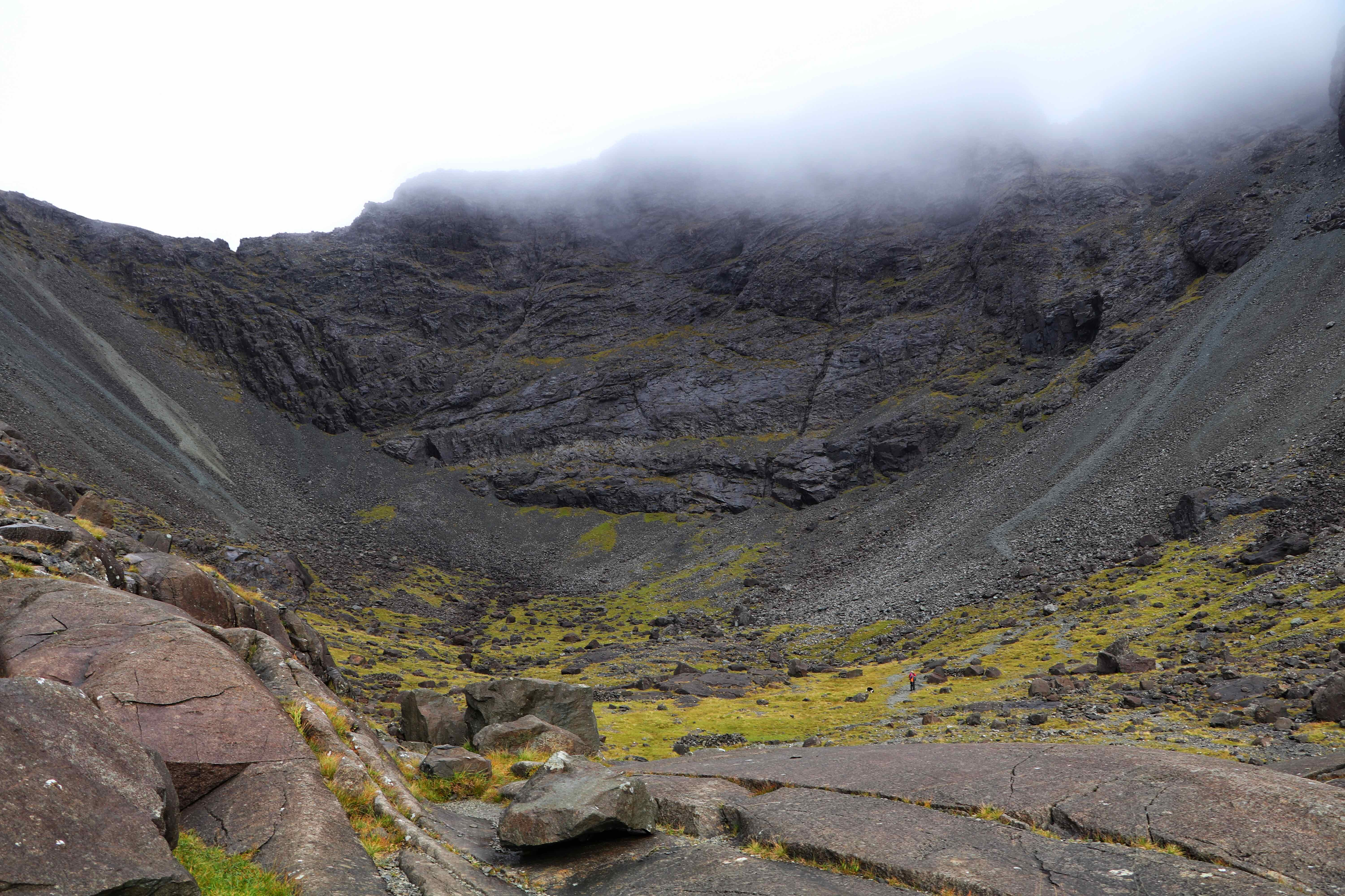 Coire Lagan and the sides of The Black Cuillin, Isle of Skye ECF