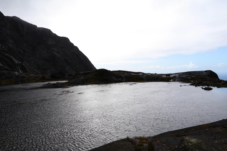 Loch at Coire Lagan, Isle of Skye ECF