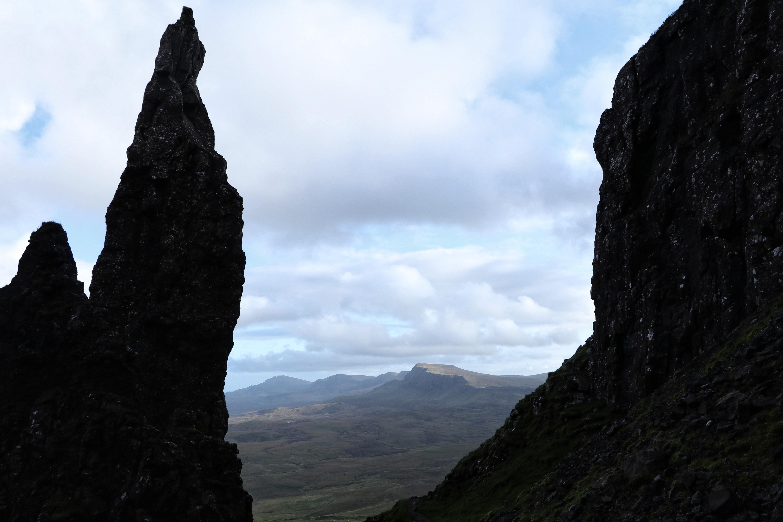 The Needle on the Quiraing, Isle of Skye ECF