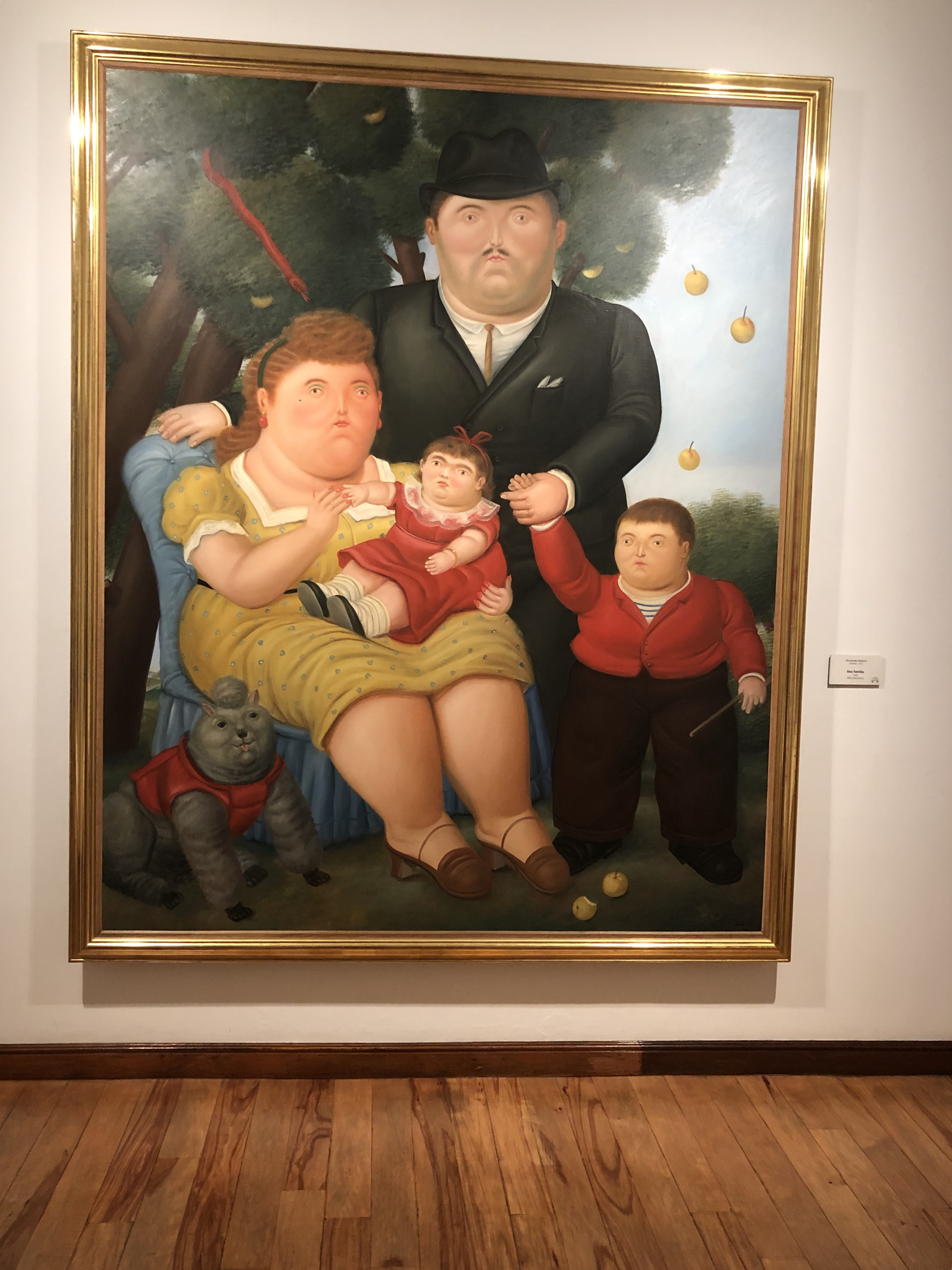 Painting by Fernando Botero